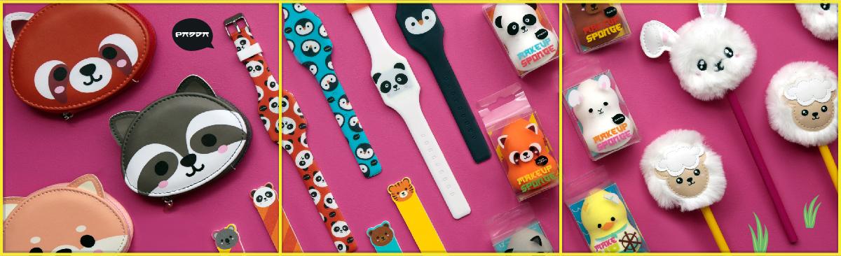 Dale un toque Kawaii a tu vida con la colección de Animales Adorables de Puckator!