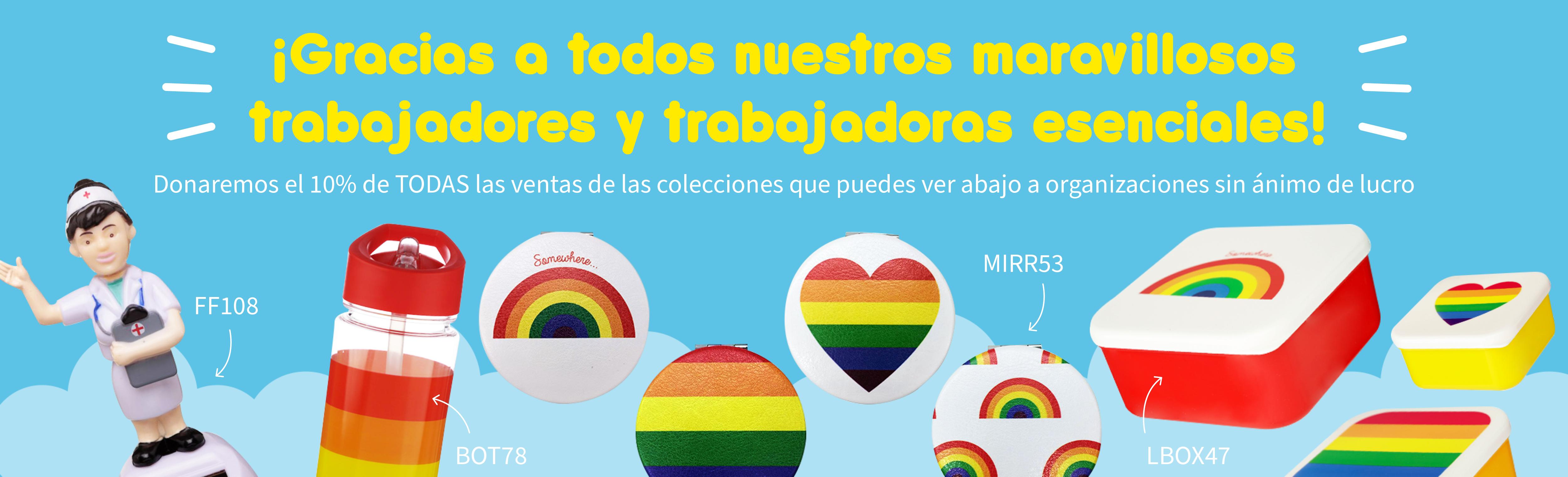 Donación 10% ventas Arcoiris y Enfermera